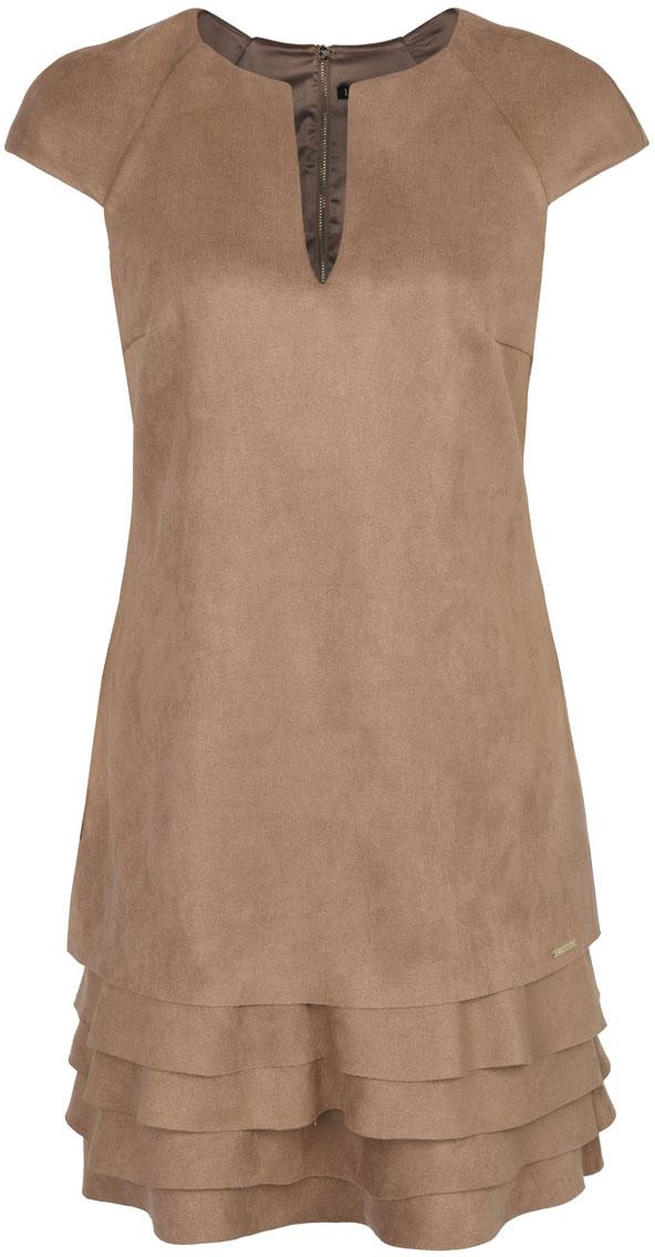 Платье Love Republic, цвет: бежевый. 8152133511. Размер 46 велопокрышка czech republic road bmx 20x2 20