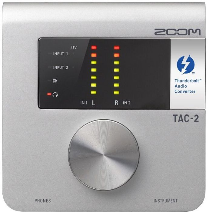 Zoom TAC-2, Silver аудиоинтерфейс аудиоинтерфейс zoom tac 8
