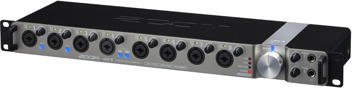 Zoom UAC-8, Black аудиоинтерфейс цифровой