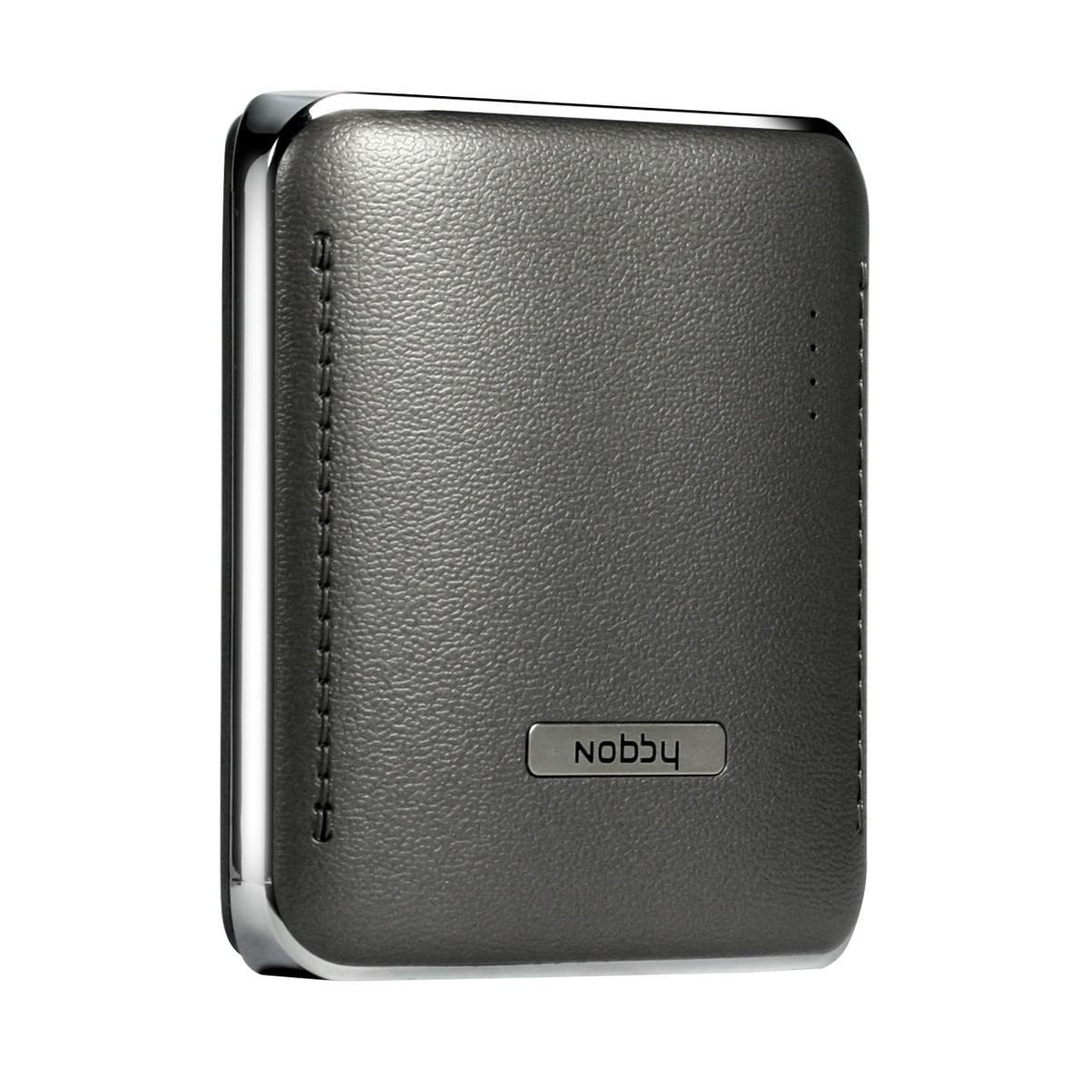 Nobby Comfort 015-001, Grey внешний аккумулятор (4000 mAh) аккумулятор nobby slim 025 001 4000 mah usb 1 2а black 09282