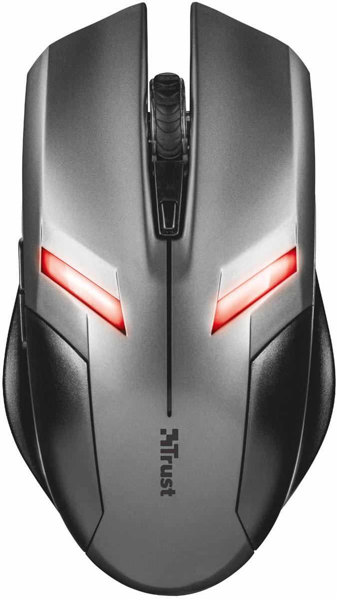 Trust Ziva, Grey Black игровая мышь21512Trust Ziva - компактная игровая мышь с 6 кнопками и подсветкой, которая создана специально для длительного игрового процесса.Данная модель справится с любой ситуацией и подойдет как для меткой стрельбы в шутерах, так и для быстрого управления армиями в стратегиях.Светодиодная подсветка c эффектом пульсации Кнопка выбора dpi (800/1200/1600/2000)