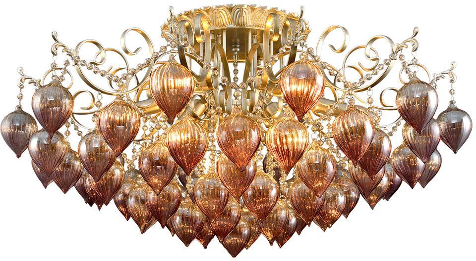 Люстра Максисвет Хрусталь, 9 х E14, 60W. 1-8186-9-YNBR E141-8186-9-YNBR E14Светильники коллекции «Хрусталь» от Максисвет – настоящее произведение искусства.С незапамятных времен такие хрустальные люстры украшали частные гостиные, модные галереи, фойе икомнаты для отдыха респектабельных отелей. Сегодня эта роскошь доступна и для Вас.Наша коллекция «Хрусталь» включает в себя как классические потолочные, так и подвесные люстры.Также в ней отражены самые последние тенденции, такие как тонированный хрусталь, современныеформы, цветное стекло и др.Благодаря широкому модельному ряду, можно не только подобрать светильник практически на любойвкус, но и выбрать нужный Вам ценовой диапазон.