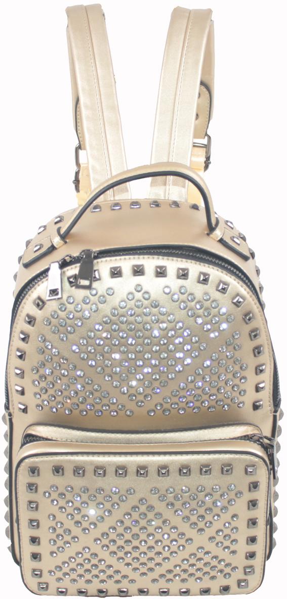 Рюкзак женский Flioraj, цвет: золотистый. 69503 рюкзак женский flioraj цвет синий 321 8