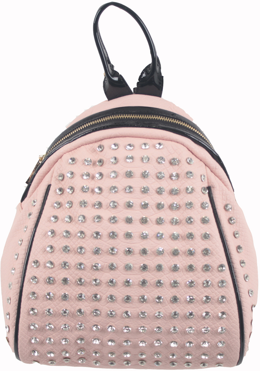 Рюкзак женский Flioraj, цвет: розовый. 6915169151 pinkРюкзак женский Flioraj закрывается на молнию. Внутри - одно отделение, два кармана для мобильного телефона, карман на молнии, снаружи - карман на молнии. Высота ручки 9 см.