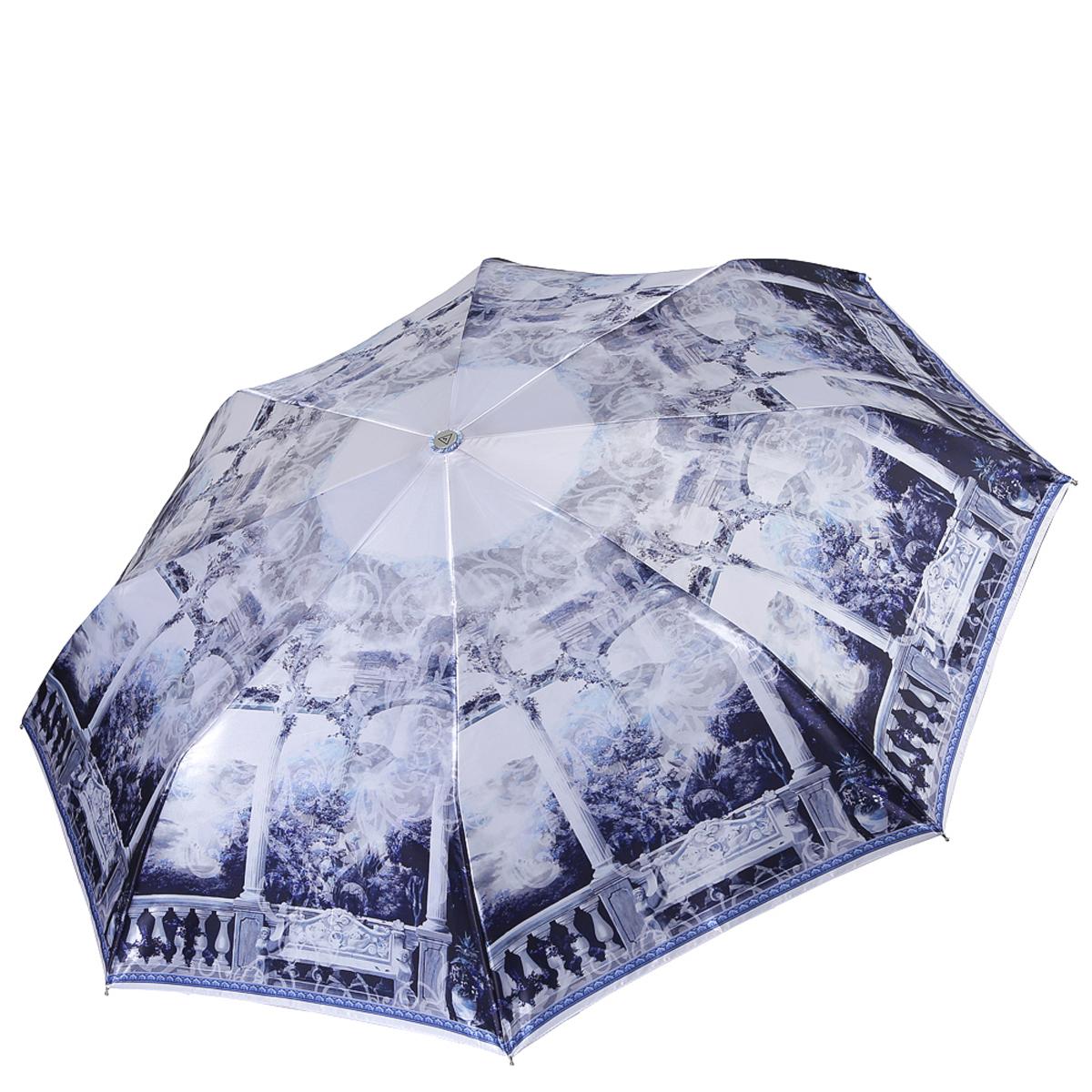 Зонт женский Fabretti, автомат, 3 сложения. L-18108-12