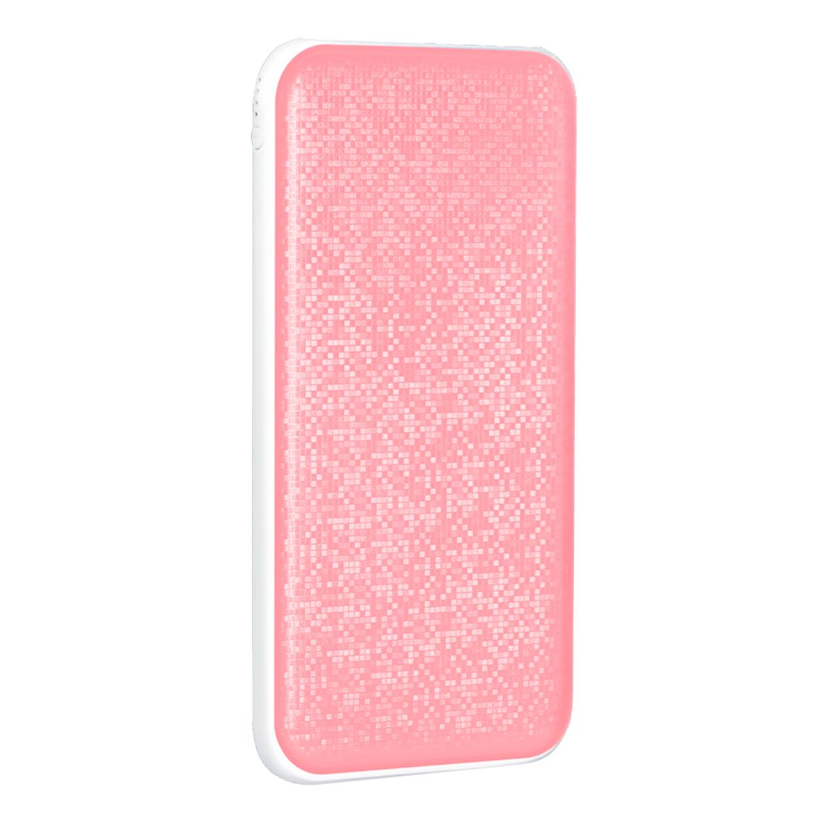 Nobby Pixel 030-001, Pink внешний аккумулятор (10 000 мАч) аккумулятор nobby slim 025 001 4000 mah usb 1 2а black 09282