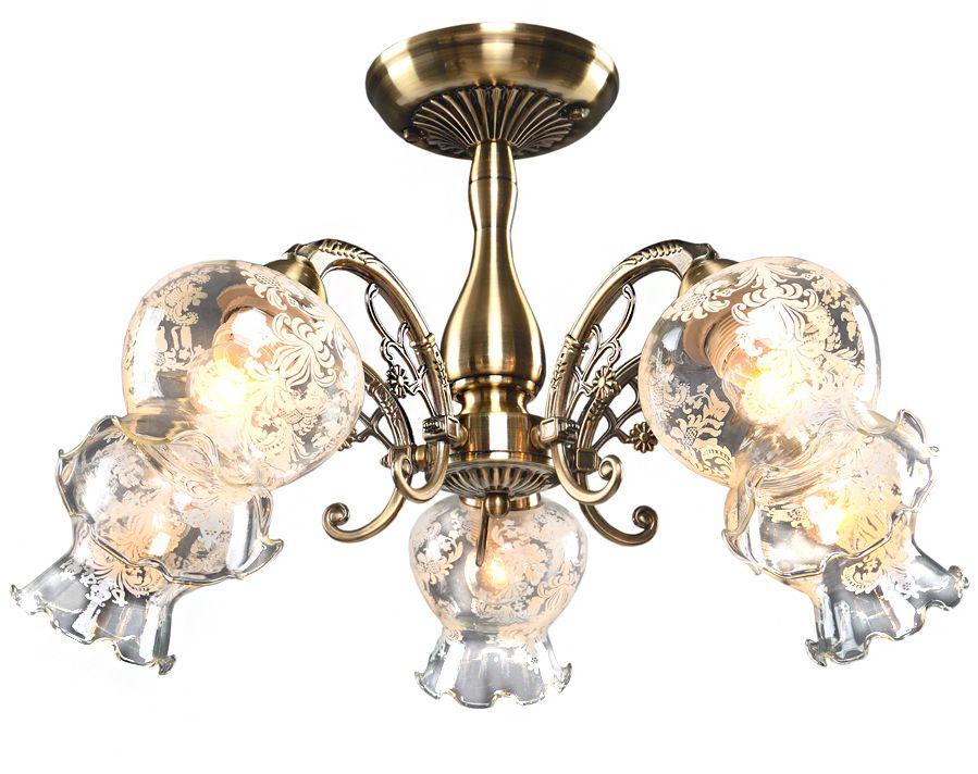 Люстра Максисвет Классика, 5 х E27, 60W. 1-4080-5-AB E271-4080-5-AB E27Основное достоинство светильников выполненных в классическом стиле –это использование натуральных материалов и естественных цветов.Каркас светильника выполнен в цвете античной бронзы.