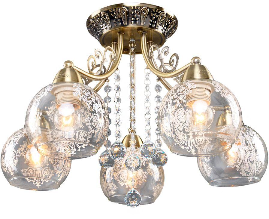 Люстра Максисвет Классика, 5 х E27, 60W. 1-4085-5-AB E271-4085-5-AB E27Основное достоинство светильников выполненных в классическом стиле –это использование натуральных материалов и естественных цветов.Каркас светильника выполнен в цвете античной бронзы.