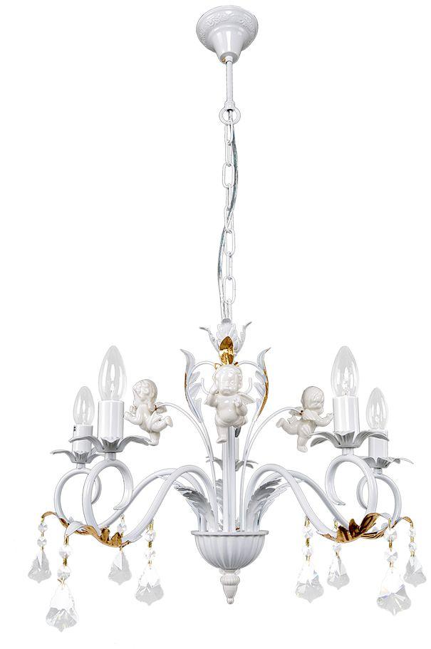Люстра Максисвет Классика, 5 х E14, 60W. 2-3866-5-WH E142-3866-5-WH E14Коллекция «Классика» – это гармония, сдержанность и правильные формы.В нашей коллекции представлен широкий диапазон моделей, отражающих тот илииной исторический стиль. Светильники на основе античных образцов, представителистиля барокко, ампир, и более позднего серебряного века объединились в рамках однойколлекции.Светильники коллекции «Классика» отличаются красотой и элегантностью, которыесоздают ощущение надежности и спокойствия. «Классика не стареет» – это крылатоевыражение с полным основанием можно применить к классическим светильникам.