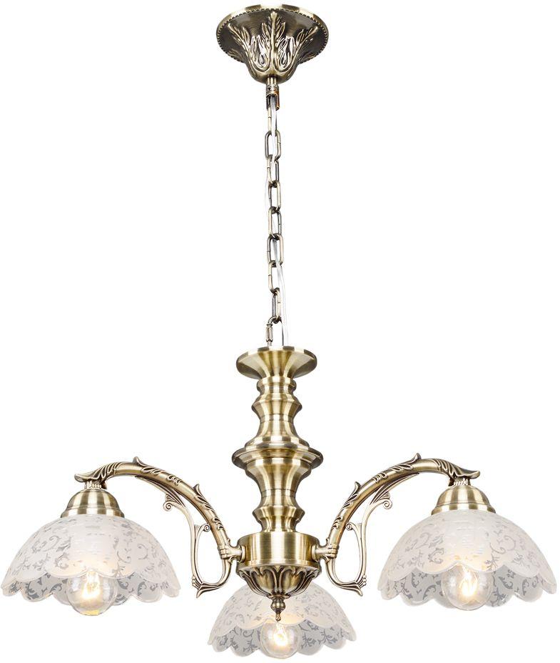 Люстра Максисвет Классика, 3 х E27, 60W. 2-3870-3-AB E272-3870-3-AB E27Основное достоинство светильников выполненных в классическом стиле –это использование натуральных материалов и естественных цветов.Каркас светильника выполнен в цвете античной бронзы.