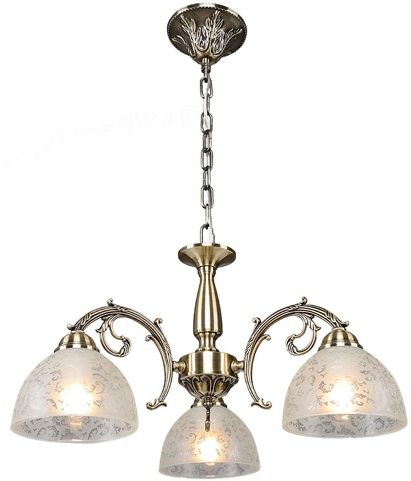 Люстра Максисвет Классика, 3 х E27, 60W. 2-3875-3-AB E272-3875-3-AB E27Основное достоинство светильников выполненных в классическом стиле –это использование натуральных материалов и естественных цветов.Каркас светильника выполнен в цвете античной бронзы.