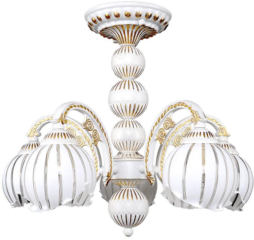 Люстра Максисвет Классика, 5 х E14, 60W. 2-4140-5-WHS Е142-4140-5-WHS Е14Коллекция «Классика» – это гармония, сдержанность и правильные формы.В нашей коллекции представлен широкий диапазон моделей, отражающих тот илииной исторический стиль. Светильники на основе античных образцов, представителистиля барокко, ампир, и более позднего серебряного века объединились в рамках однойколлекции.Светильники коллекции «Классика» отличаются красотой и элегантностью, которыесоздают ощущение надежности и спокойствия. «Классика не стареет» – это крылатоевыражение с полным основанием можно применить к классическим светильникам.