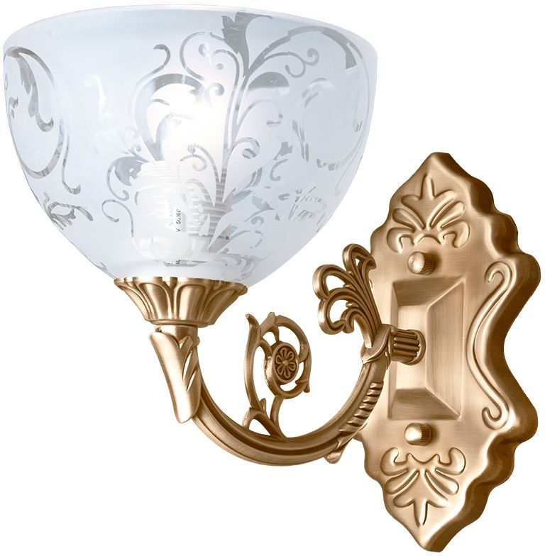 Бра Максисвет Классика, 1 х E27, 40W. 3-3088-1-AB E273-3088-1-AB E27Основное достоинство светильников выполненных в классическом стиле – это использование натуральных материалов и естественных цветов. Каркас светильника выполнен в цвете античной бронзы.