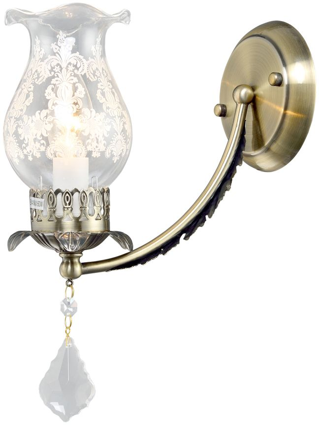 Бра Максисвет Классика, 1 х E14, 60W. 3-3965-1-AB E143-3965-1-AB E14Основное достоинство светильников выполненных в классическом стиле – это использование натуральных материалов и естественных цветов. Каркас светильника выполнен в цвете античной бронзы.