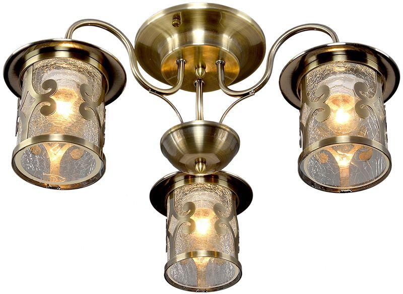 Люстра Максисвет Ковка, 3 х E27, 60W. 1-4610-3-AB E271-4610-3-AB E27Кованые элементы в интерьере квартиры применяются с давних времен, и с тех самых времен они характеризуются изысканностью и утончённостью. Оригинальные светильники коллекции Ковка» подчеркивают общую стилистику интерьера.Несмотря на то, что изделия выполнены из металла, они не отягощают пространство,а наоборот, придают легкость всему помещению. Кованая мебель и предметы интерьера с художественной ковкой очень активно используютсяпри оформлении загородных домов. Воздушные люстры с кружевом из металла одинаковохороши и в уютных кафе, и в городских квартирах.Широкий модельный ряд «Максисвет» позволяет подобрать люстру под конкретный интерьер –от романтичного прованса до тяжелого замкового стиля. Для законченности интерьера люструможно дополнить бра, торшером или настольной лампой той же серии.