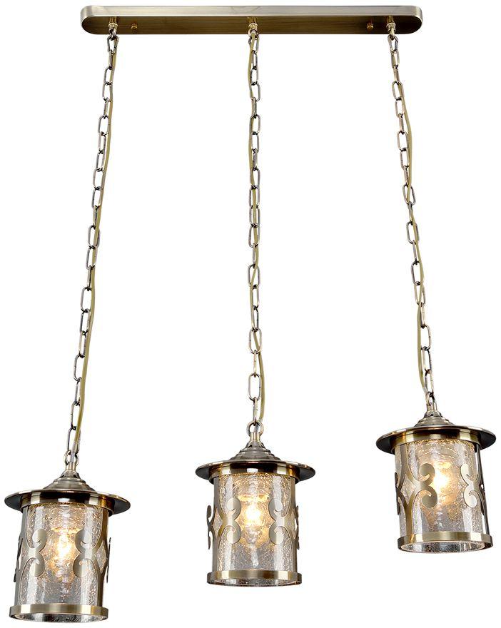 Люстра Максисвет Ковка, 3 х E27, 60W. 2-4610-3-AB E272-4610-3-AB E27Кованые элементы в интерьере квартиры применяются с давних времен, и с тех самых времен они характеризуются изысканностью и утончённостью. Оригинальные светильники коллекции Ковка» подчеркивают общую стилистику интерьера.Несмотря на то, что изделия выполнены из металла, они не отягощают пространство,а наоборот, придают легкость всему помещению. Кованая мебель и предметы интерьера с художественной ковкой очень активно используютсяпри оформлении загородных домов. Воздушные люстры с кружевом из металла одинаковохороши и в уютных кафе, и в городских квартирах.Широкий модельный ряд «Максисвет» позволяет подобрать люстру под конкретный интерьер –от романтичного прованса до тяжелого замкового стиля. Для законченности интерьера люструможно дополнить бра, торшером или настольной лампой той же серии.