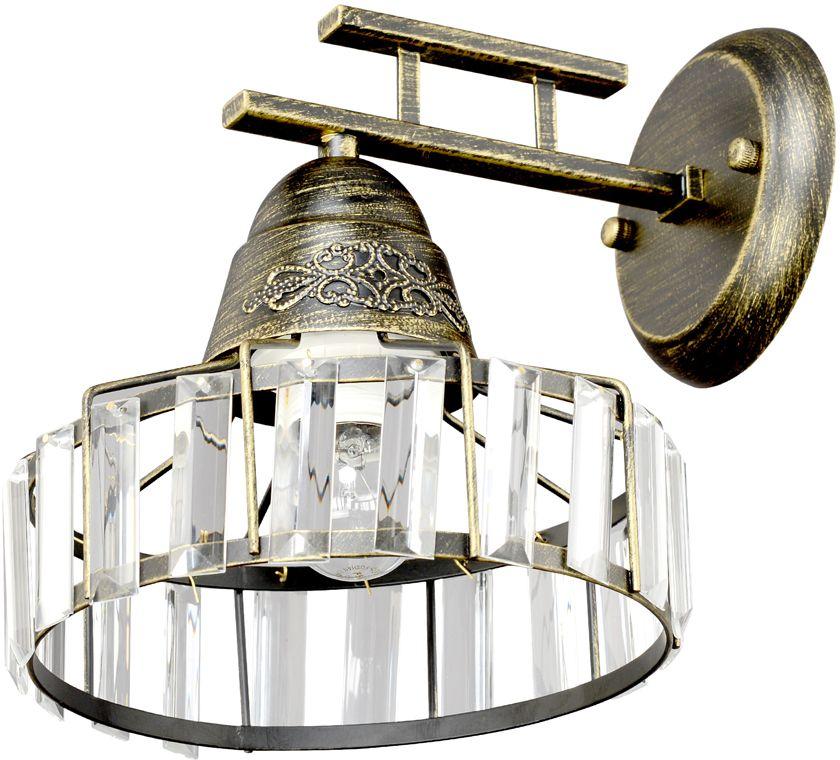 Бра Максисвет Ковка, 1 х E27, 60W. 3-4407-1-BKS E273-4407-1-BKS E27Эксклюзивные серии светильников 4407 и 4408 – отличный выбор современного покупателя для обустройства интерьера в стиле Loft. Серии светильников представлены потолочной люстрой, бра, а также одиночным и тройным подвесом. Комбинация светильников отлично подойдет для создания индивидуальной композиции в нтерьере. Индивидуальная особенность светильников – граненый прозрачный хрусталь, обрамляющий плафоны.Серия светильников идеально в пишется в обустройство современных квартир, загородных домов, а также ресторанов и кафе.