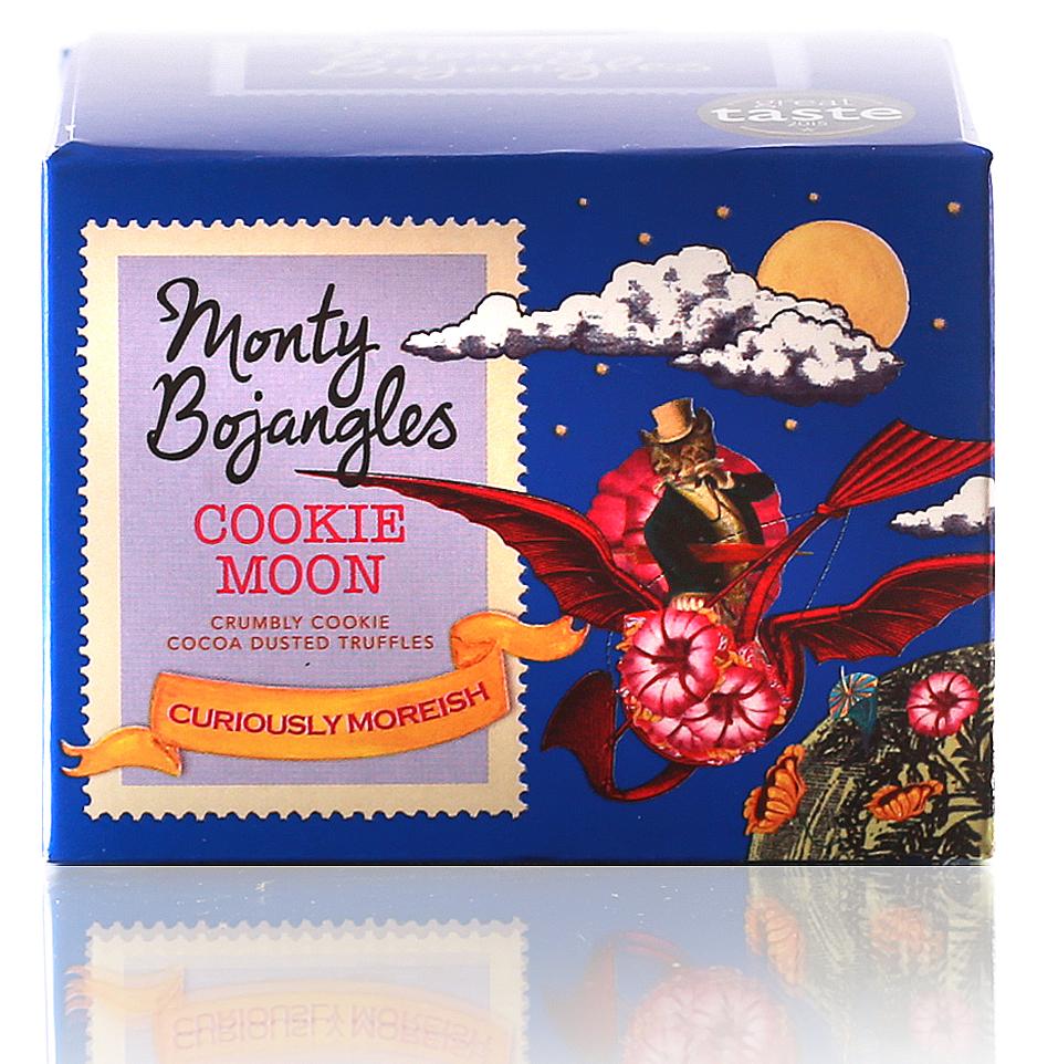 Monty Bojangles Французские трюфели с кусочками печенья, 100 г chocmod конфеты chocmod трюфели париж 500г