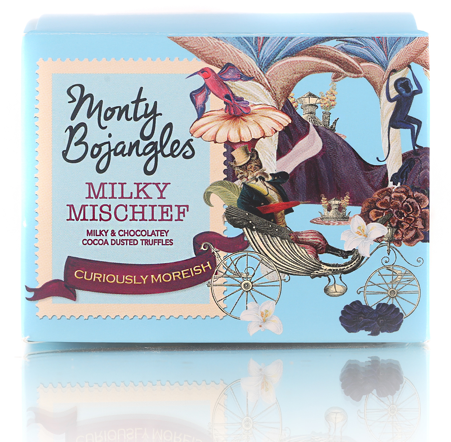 Monty Bojangles Французские трюфели классические, 100 г chocmod конфеты chocmod трюфели париж 500г