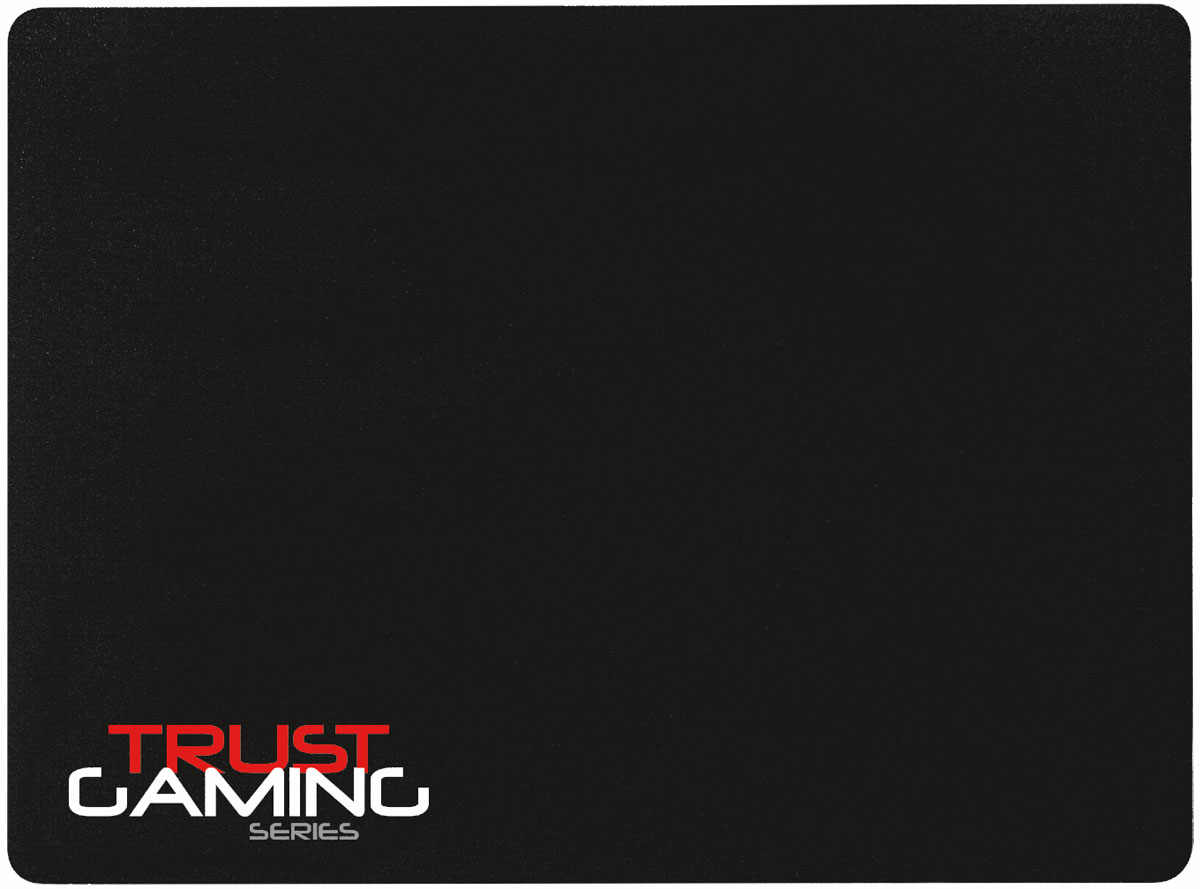 Trust GXT 204 Hard Gaming Mouse Pad, Black коврик для мыши мышь trust gxt 130 wireless gaming mouse usb