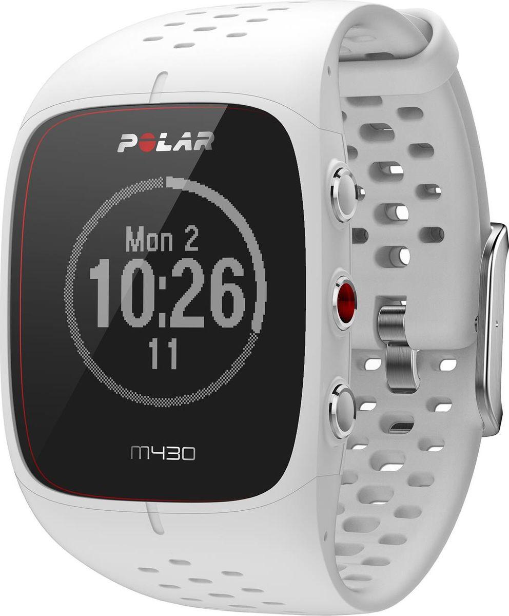 Часы для бега Polar M430, с GPS, цвет: белый90064407Polar M430 — это спортивные часы для бега с модулем GPS, датчиком сердечного ритма, лучшими функциями для тренировок и отслеживанием активности в режиме 24/7. Это высококлассные часы для бегунов, которые хотят получить больше от своих занятий.ДАТЧИК С ПУЛЬСОМЕТРОМ НА ЗАПЯСТЬЕ Легко и точно отслеживайте сердечный ритм с помощью запатентованной оптической системы измерения сердечного ритма от Polar. НОВЕЙШАЯ СИСТЕМА GPS Точная и надежная функция GPS в Polar M430 безошибочно измеряет скорость, расстояние и маршрут. Благодаря режиму экономии энергии GPS вы сможете отследить каждый поворот даже во время самых длинных приключений. ДАННЫЕ ПО БЕГУ В ПОМЕЩЕНИИ Когда сигнал GPS недоступен, Polar M430 измеряет темп бега и дистанцию с помощью движений запястья. ОТСЛЕЖИВАНИЕ АКТИВНОСТИ Продолжайте двигаться в течение всего дня. Polar M430 отслеживает шаги, дистанцию, калории и сон, а также предоставляет персонализированную цель физической активности POLAR FLOW Планируйте тренировки и рассказывайте о них друзъям и близким с помощью эксклюзивного онлайн-сервиса и приложения Polar Flow, поддерживающего синхронизацию данных. Все данные легко просматривать. ИНТЕЛЛЕКТУАЛЬНЫЕ УВЕДОМЛЕНИЯ Функция интеллектуальных уведомлений позволяет просматривать уведомления из телефона прямо на экране спортивных часов M430. СПОРТИВНЫЕ ПРОФИЛИ Polar предоставляет более сотни различных спортивных профилей, что дает возможность выбрать профиль, соответствующий вашим тренировкам ТЕХНИЧЕСКИЕ ХАРАКТЕРИСТИКИ Встроенный датчик GPS со спутниковой технологией прогнозирования SiRFInstantFix™ Датчик активности Ручная и автоматическая установка этапов Вибрационные уведомления Водонепроницаемость (можно использовать во время плавания) Флеш-память объемом 8 МБ Перезаряжаемый литий-полимерный аккумулятор на 240 мАч Время работы аккумулятора: до 8 часов тренировок при включенном датчике GPS и оптическом датчике пульса на запястье ВОЗМОЖНОСТИ ПОДКЛЮЧЕНИЯ Индивидуальн