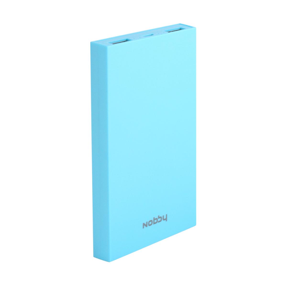 Nobby Practic 029-001, Blue внешний аккумулятор (8000 мАч)9719Цветная серия с возможностью создания индивидуального дизайна, индикация уровня заряда с функцией Shake; 8000 мАч; Li-pol; 2USB; общий макс. выход. ток 2А; макс. ток на 1 выход 2А; выход. напряжение 5В; вход. сила тока 2А; вход. напряжение 5В; время зарядки 4 ч; 6 степеней защиты: от короткого замыкания, перегрузки по току, перегрузки по напряжению, перезаряда, глубокого разряда, перегрева; Led индикация уровня заряда; пластиковый корпус; в комплекте кабель USB 2.0-microUSB 20 см; набор наклеек для дизайна; 65х118х15 мм; 177г
