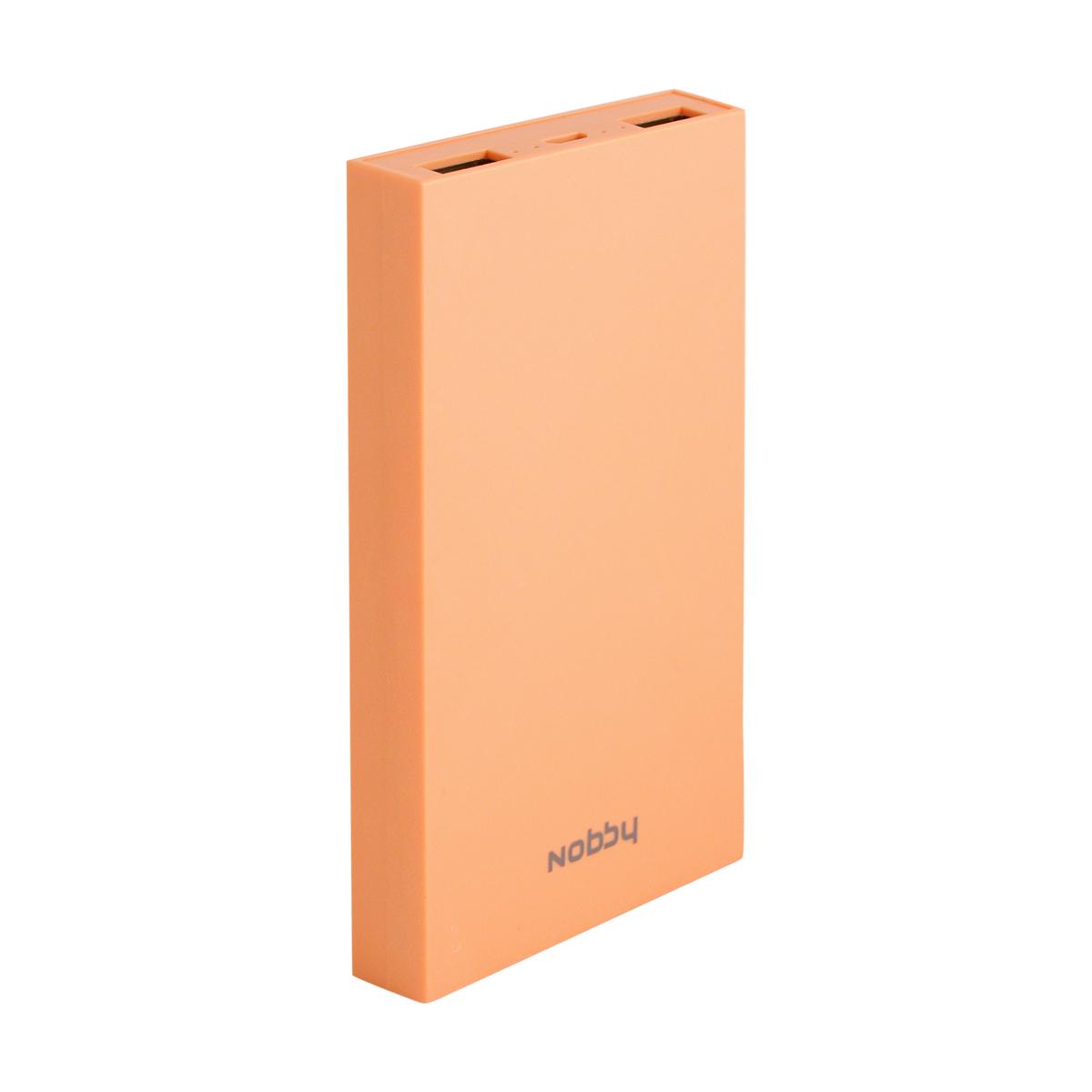 Nobby Practic 029-001, Peach внешний аккумулятор (8000 мАч) nobby nobby pb 006 4000 мач