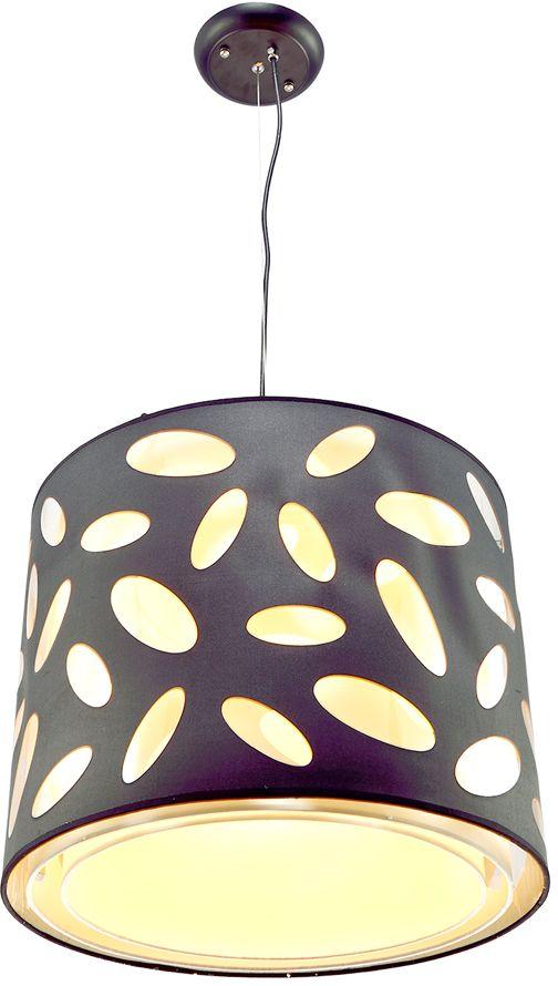 Люстра Максисвет  Текстиль , 1 х E27, 60W. 2-4956-1-BK E27 -  Светильники