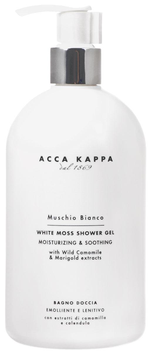 Пена для душа и ванны Acca Kappa Белый мускус, 500 мл mustela пена для ванны mustela bebe 8700794 200 мл
