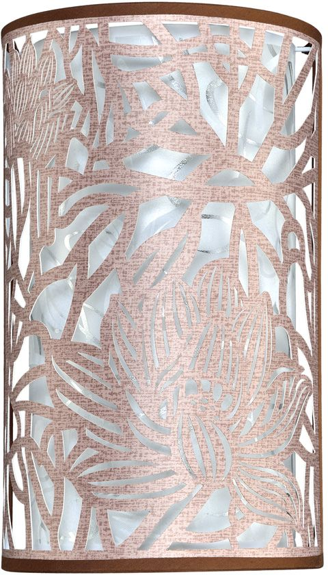 Бра Максисвет Текстиль, 1 х LED, 4W. 3-6503-WH LED3-6503-WH LEDВ новую серию 6503 коллекции Текстиль с цветочным орнаментом входят потолочная и подвесная люстры, торшер, настольная лампа и светодиодная бра.Особенности светильников этой серии: - двойной абажур - лазерная вырубка на внешнем тканевом абажуре - благодаря повторению рисунка на внутреннем абажуре создается объемный 3D эффект.Светильники распространяют мягкий приглушенный свет. При желании увеличить яркость светильника можно использовать в комплектации более мощные светодиодные лампы.