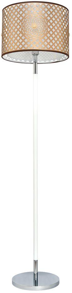 Торшер Максисвет Текстиль, 1 х E27, 12W. 4-6507-1-CR+WH E274-6507-1-CR+WH E27Новая серия 6507 коллекции Текстиль в стиле Фьюжн объединяет в себе классическое и восточное направление.В серию вошли потолочная и подвесная люстры, торшер, настольная лампа и светодиодная бра.Особенности светильников этой серии:- двойной абажур- лазерная вырубка на внешнем текстильном абажуре- орнамент дополнен украшением в виде жемчужины в золотой оправе.Светильники распространяют мягкий приглушенный свет. При желании увеличить яркость светильника можно использовать более мощные светодиодные лампы.