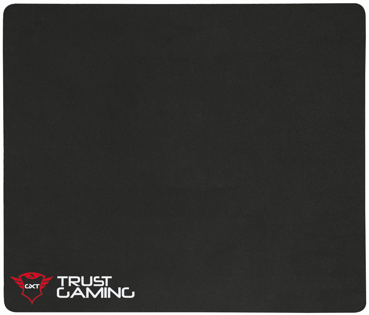 Trust GXT 756 Mouse Pad XL, Black коврик для мыши мышь trust gxt 130 wireless gaming mouse usb