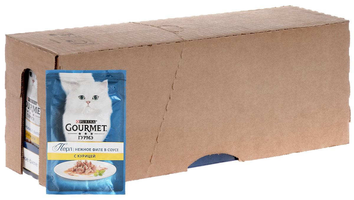 Консервы для кошек Gourmet Perle, мини-филе с курицей, 85 г, 24 шт54056_24Пауч для кошек от компании Gourmet - это нежные кусочки курицы в ароматном соусе. Консервы прекрасно сочетаются с любым типом кормления, поэтому их можно давать в чистом виде или смешивая с сухими кормами и кашами. Входящие в состав витамины и минералы ухаживают за кожей и шерстью домашнего питомца, поддерживают здоровье зубов, скелета, иммунной и пищеварительной системы. Побалуйте своего питомца нежными кусочками Gourmet Perle, которые придутся по вкусу даже самым привередливым кошкам.Состав: мясо и субпродукты животного происхождения (мясо курицы мин.4%), белок растительного происхождения, рыба и субпродукты рыбного происхождения, минеральные вещества, различные сахара, витамины.Добавки (на 1 кг продукта): витамин A - 1490 ME; витамин D3 - 230 ME; железо - 10 мг; йод - 0,3 мг; медь - 0,9 мг; марганец - 2,0 мг; цинк - 10 мг. Уважаемые клиенты! Обращаем ваше внимание на то, что упаковка может иметь несколько видов дизайна. Поставка осуществляется в зависимости от наличия на складе.
