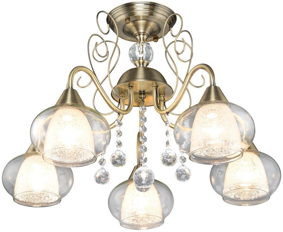 Люстра Максисвет Классика, 5 х E14, 60W. 1-4134-5-AB E141-4134-5-AB E14Основное достоинство светильников выполненных в классическом стиле –это использование натуральных материалов и естественных цветов.Каркас светильника выполнен в цвете античной бронзы.