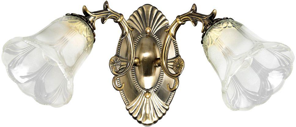 Бра Максисвет Классика, 2 х E27, 60W. 3-3903-2-AB E273-3903-2-AB E27Основное достоинство светильников выполненных в классическом стиле – это использование натуральных материалов и естественных цветов. Каркас светильника выполнен в цвете античной бронзы.