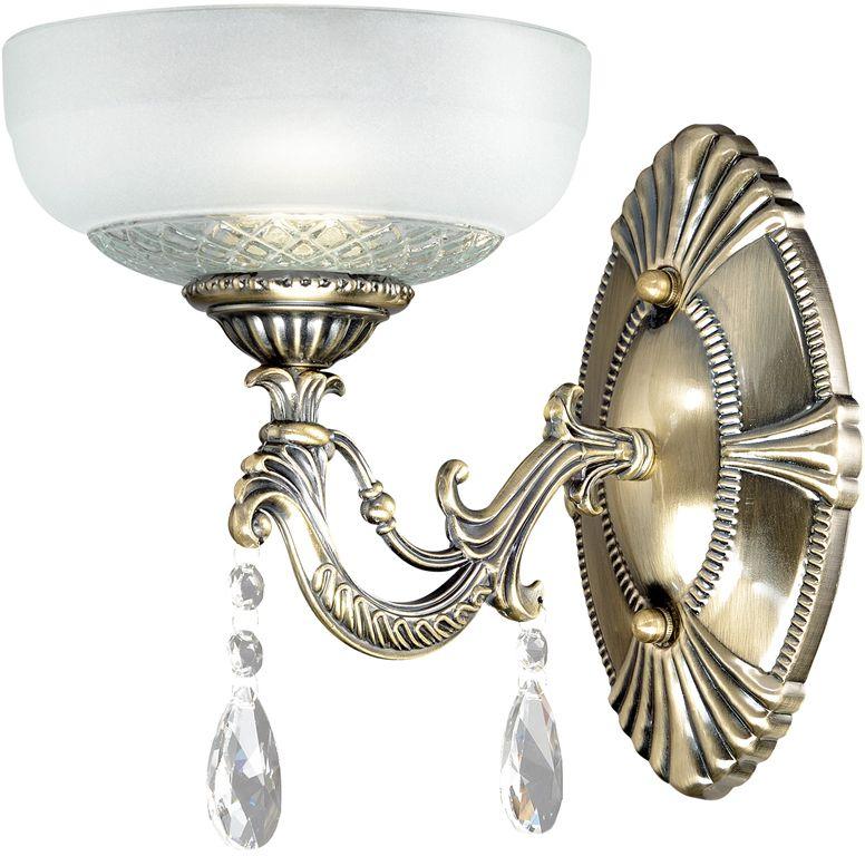 Бра Максисвет Классика, 1 х E27, 60W. 3-3911-1-AB E273-3911-1-AB E27Основное достоинство светильников выполненных в классическом стиле – это использование натуральных материалов и естественных цветов. Каркас светильника выполнен в цвете античной бронзы.