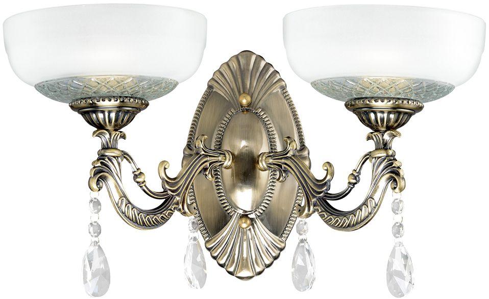 Бра Максисвет Классика, 2 х E27, 60W. 3-3911-2-AB E273-3911-2-AB E27Основное достоинство светильников выполненных в классическом стиле – это использование натуральных материалов и естественных цветов. Каркас светильника выполнен в цвете античной бронзы.