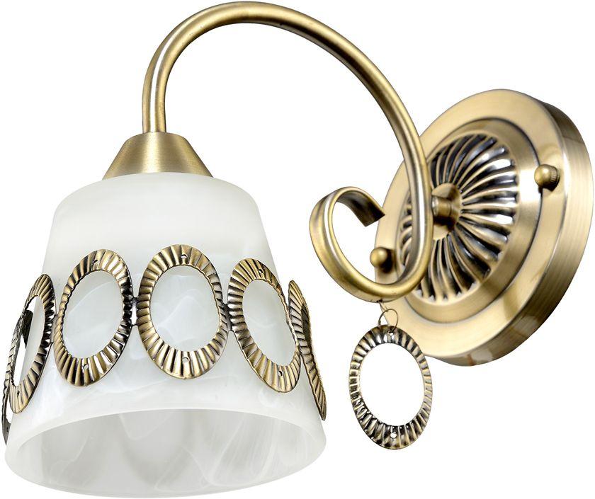 Бра Максисвет Классика, 1 х E27, 60W. 3-4142-1-AB E273-4142-1-AB E27Основное достоинство светильников выполненных в классическом стиле – это использование натуральных материалов и естественных цветов. Каркас светильника выполнен в цвете античной бронзы.