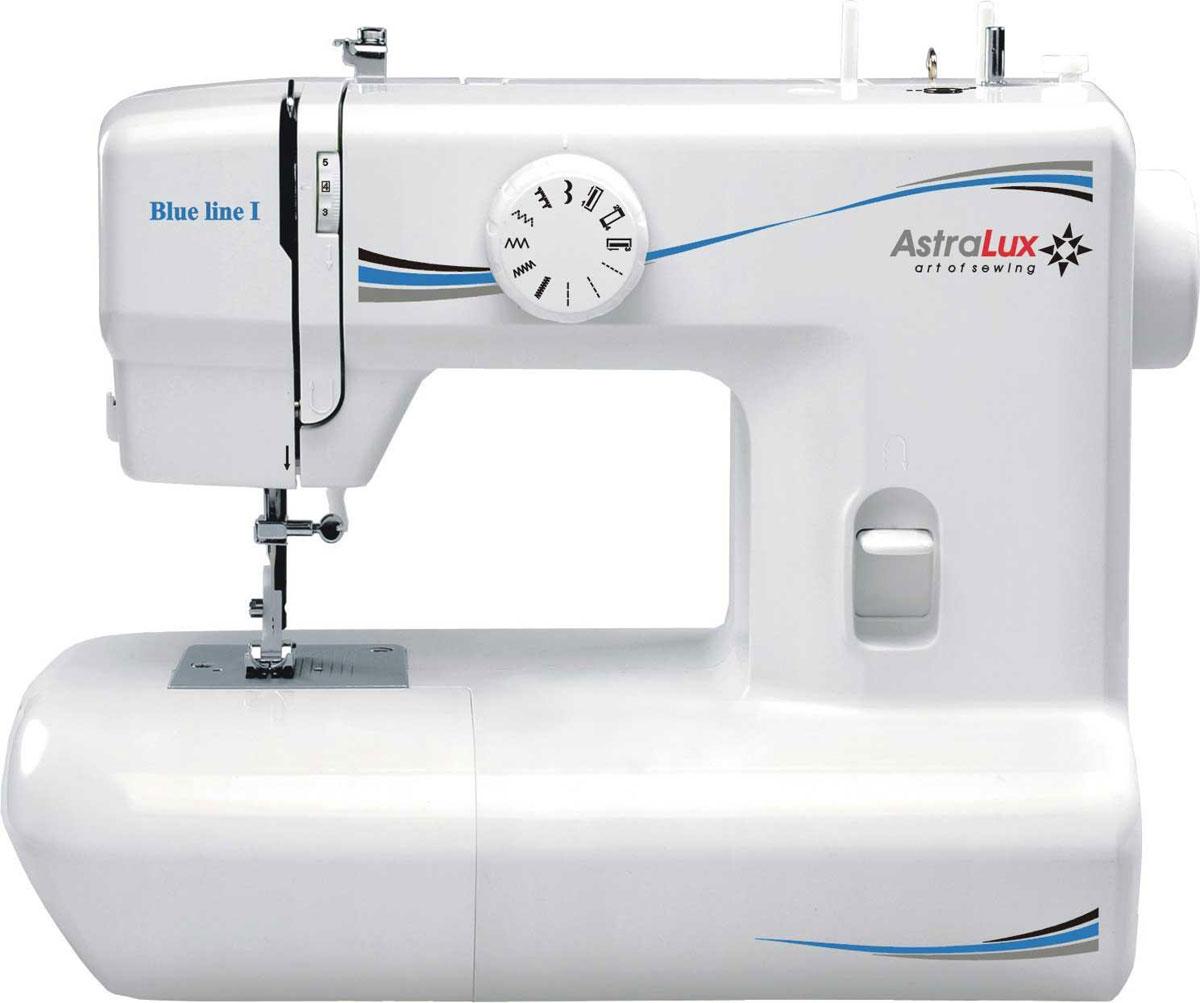 Astralux Blue Line I швейная машина швейная машинка astralux 7350 pro series вышивальный блок ems700