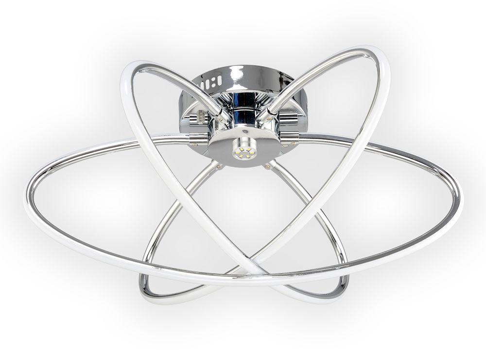 Люстра Максисвет Геометрия, 3 х LED, 64W. 1-1430-3-CR LED1-1430-3-CR LEDСветодиодный светильник в коллекции Геометрии с элементом центральной подсветки - Софит:- главная особенность светильника – ультрасовременные рассеивали света из силикона. - цветовая температура света - 4000К (нейтральный белый).- светильник имеет 1 режим включения света.