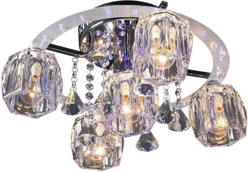 Люстра Максисвет Геометрия, 5 х E14, 40W. 1-1608-5-CR-LED Y E14