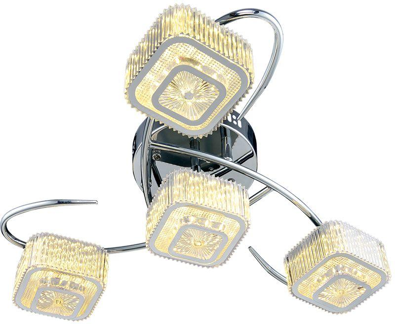 Люстра Максисвет Геометрия, 4 х LED, 8W. 1-1698-4-CR Y LED1-1698-4-CR Y LEDКоллекция «Геометрия» – это светильники, задающие ритм всему помещению, уместныепрактически в любом интерьере, независимо от выбранной стилистики или габаритовпомещения.Особенность люстр из коллекции «Геометрия» – это большое число лампочек, размещенныхна достаточно большой площади, а также наличие разноцветной светодиодной подсветкии многообразных режимов освещения, которые создадут нужное настроение в любое времясуток.Благодаря разнообразию моделей, оригинальности дизайна, а также доступной цене этисветильники пользуются массовым спросом и позволяют удовлетворить практически любогопокупателя.