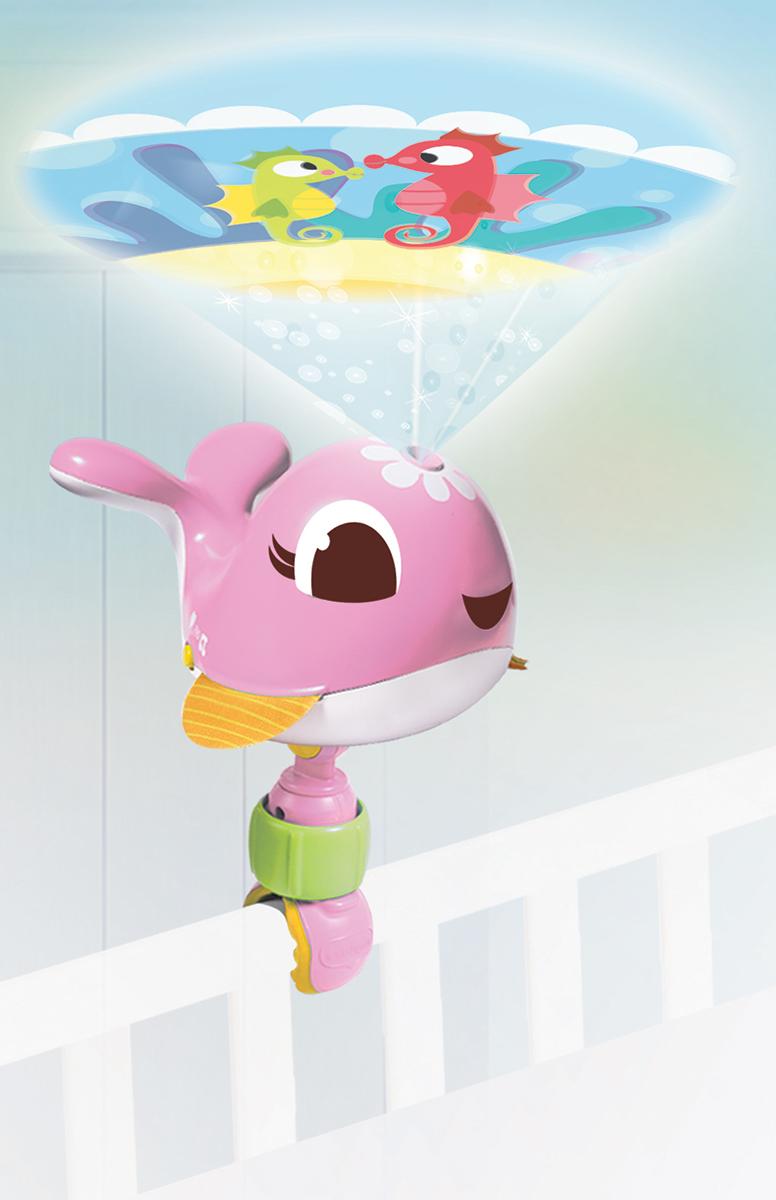 Tiny Love Ночник-проектор Коди цвет розовый музыкальная подвеска на кроватку chicco чико спокойной ночи цвет розовый