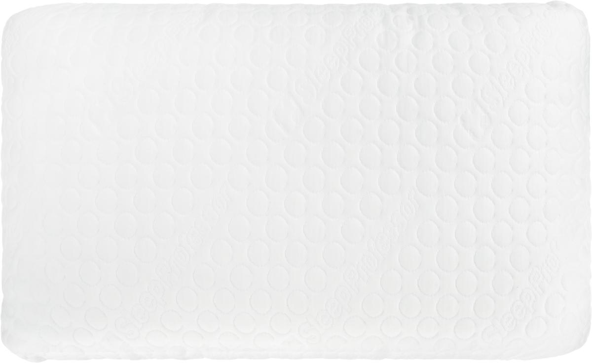 Подушка анатомическая Sleep Professor Ultra, цвет: белый, 60 x 40 см5001021204.0070Подушка Sleep Professor Ultra выполнена из революционного материала Taktile. Наполнителемявляется синтетический пух 100% пух. Несъемный чехол из 100% хлопка. Гранулированныйматериал Taktile, используемый в подушке , обеспечивает точечную поддержку головы, создаваядополнительный воздухообмен.Анатомические подушки призваны улучшить комфорт и качество сна. Нормализовать цикл сна ибодрствования и уменьшить риск многих заболеваний поможет анатомическая подушка SleepProfessor Ultra. Во время сна на подушке Sleep Professor шейный отдел позвоночниканаходиться в правильном положении, кровоснабжение мозга протекает правильно.Особенности: - система правильной поддержки головы и шейного отдела позвоночника; - система вентиляции; - расслабление во время сна; - приятный охлаждающий эффект; - антибактериальный эффект; - предотвращает появление клещей.