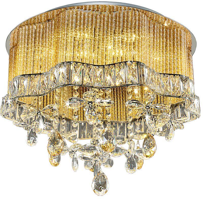 Люстра Максисвет Диамант, 16 х G4;LED, 20W. 1-2603-8+8-CR Y G4+LED1-2603-8+8-CR Y G4+LEDСветильники коллекции «Диамант» - это бриллиант среди коллекций Максисвет.Эти люстры обязательно привлекут внимание тех, кто хочет добавить в свой интерьерблагородный, элегантный акцент.Люстры из данной коллекции отличаются современным европейским дизайном.Они по праву станут достойной финальной точкой в интерьере спальни, гостиной илистоловой.А также придадут интерьеру неповторимый шарм и подчеркнут прекрасный вкус еговладельца.