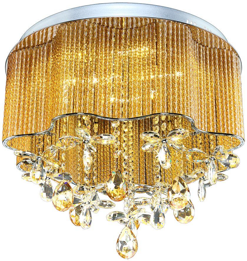 Люстра Максисвет Диамант, 14 х G4;LED, 20W. 1-2606-6+8-CR Y G4+LED1-2606-6+8-CR Y G4+LEDНовая серия хрустальных потолочных люстр в коллекции «Диамант» представлена в трех цветовых решениях. Это отличная возможность подобрать люстру на любой вкус.- хрустальные трубочки по периметру люстры имитируют абажур светильника - сочетание холодного галогенового света и теплого светодиодного создает дополнительный эффект искристости хрусталя- обратите внимание, что люстры укомплектованы сменными светодиодными модулями и пультом дистанционного управления.