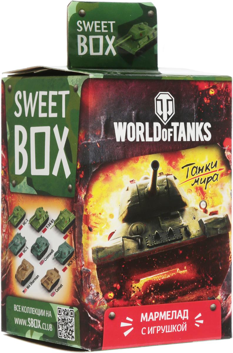 Sweet Box World of Tanks На Берлин! жевательный мармелад с игрушкой, 10 г sweet box пушистики щенята коллекция 2 жевательный мармелад с игрушкой 10 г