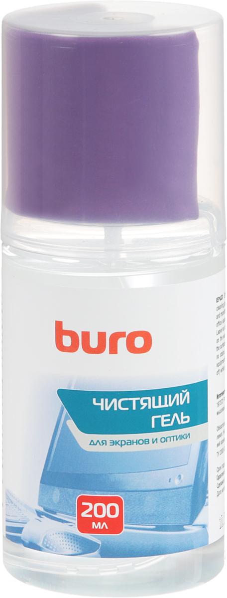 Чистящий набор для экранов и оптики Buro BU-Gscreen, 200 мл набор для ухода за техникой buro bu gsurface 200 мл салфетка из микрофибры
