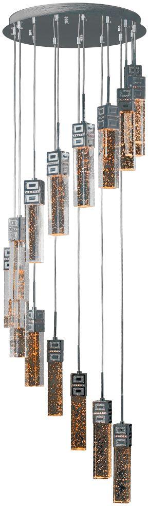 Люстра Максисвет Водопад, 15 х G5.3, 35W. 1-0621-15-CR Y G5.31-0621-15-CR Y G5.3Модель хрустального водопада подойдет для оформленияторжественных залов и общественных помещений. В домашних условиях хрустальный водопад может исполнять не только функцию освещения, но и зонального разделения пространства.