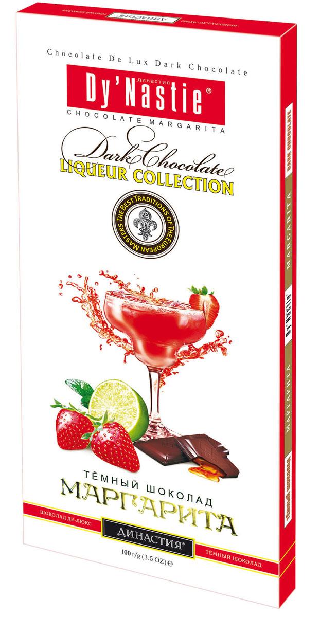 Династия Маргарита темный шоколад, 100 г ritter sport мята шоколад темный с мятной начинкой 100 г